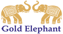 Gold Elephant Logo