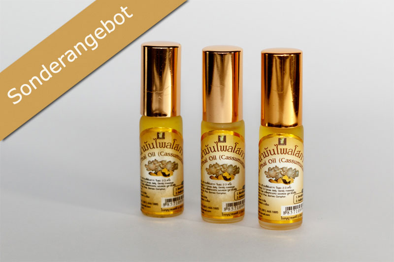 Gold Elephant - Sopa Plai Oil - Klein (3er Set)