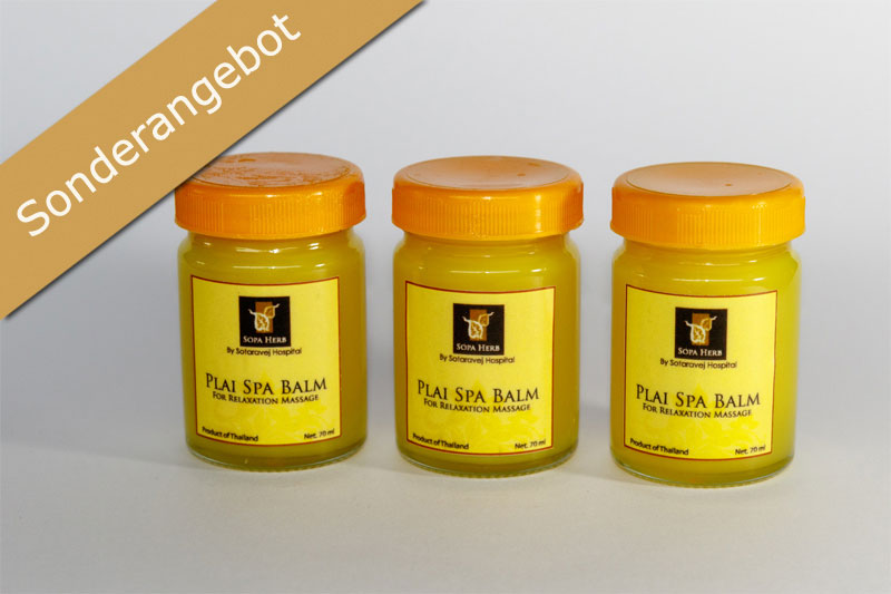 Gold Elephant - Plai Spa Balm - Gross (3er Set)